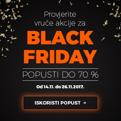 Black Friday do 70% popusta