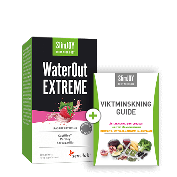 WaterOut EXTREME + SlimJOY E-Bok GRATIS