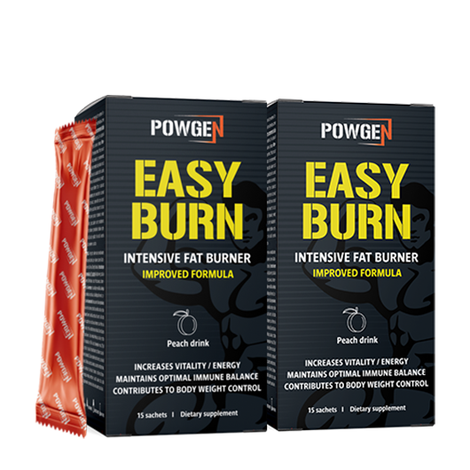 EASY BURN Intensive Fat Burner 1+1 GRATIS