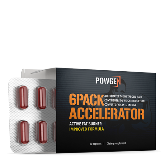 6PACK ACCELERATOR Improved Active Fat Burner