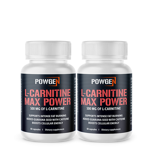 L-carnitina Max Power 1+1 GRATIS