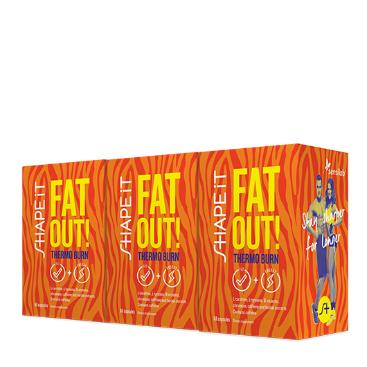 3x Fat Out! Thermo Burn Kapseln