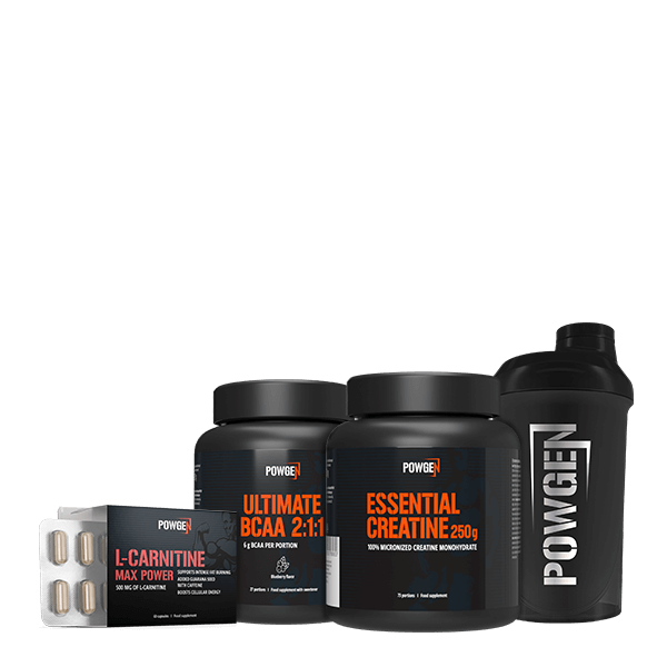 Muscle Up Pack + FREE Shaker