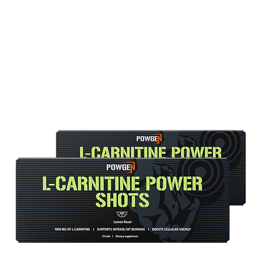 L-Carnitine Power Shots: 1+1 OFFERT