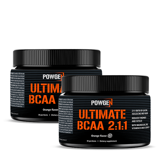 Ultimate BCAA 2:1:1 DOUBLE PACK
