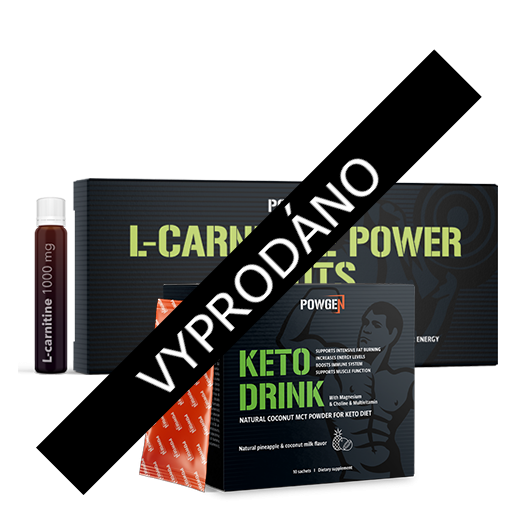 Keto Power Pack s MCT a L-karnitinem