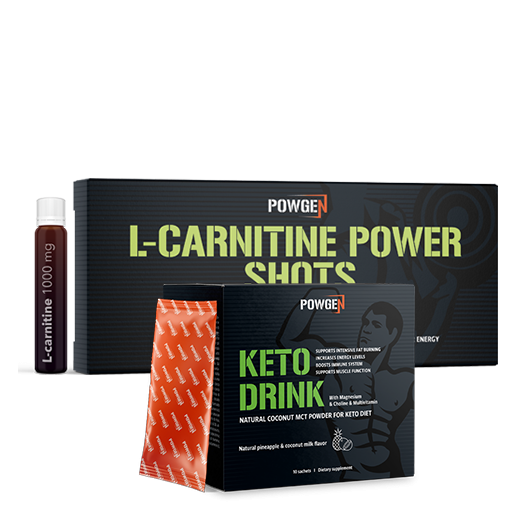 Paquete Keto Power - Keto Drink y Chupitos de L-carnitina