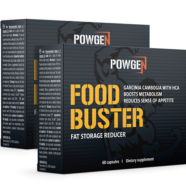 Food Buster 1+1 GRATIS