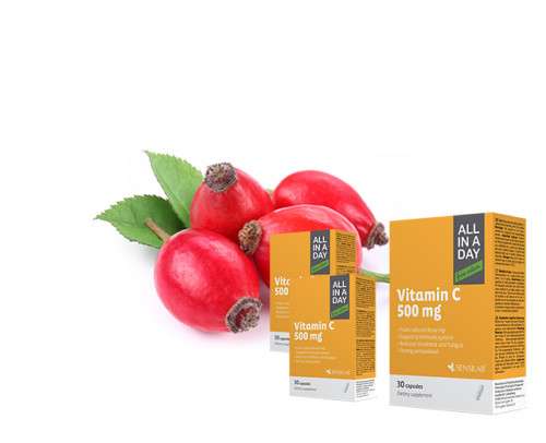 ALL IN A DAY Vitamina C 2+1 GRATIS