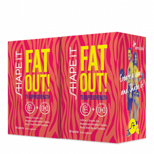 SHAPE iT Fat Out! T5 SUPERSTRENGTH 1+1 GRATIS