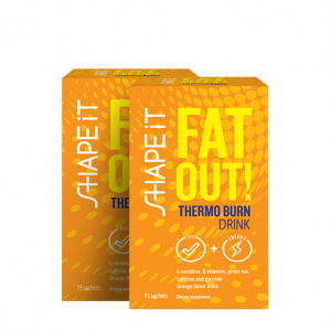 Fat Out! Thermo burn drink: 1+1 GRATIS