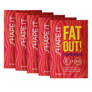 SHAPE iT Fat Out! T5 SUPERSTRENGTH 5x