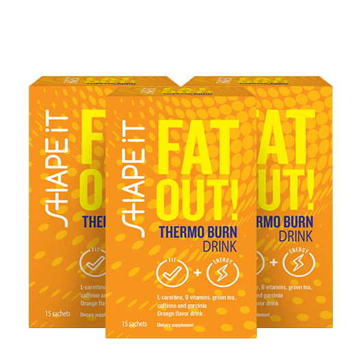 Fat Out! Thermo burn drink: 1+2 GRATIS