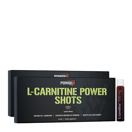 L-Carnitine Power Shots 1 + 1 GRATIS