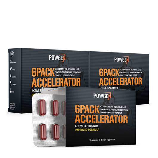 6PACK ACCELERATOR Improved 1+2 GRATIS