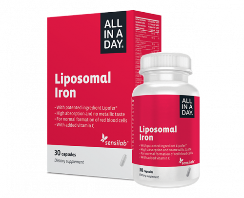 ALL IN A DAY Liposomal Iron