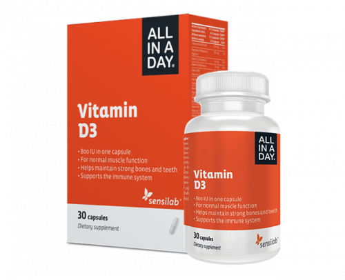 ALL IN A DAY Vitamin D3
