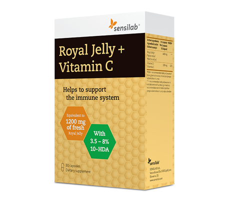 Royal Jelly + Vitamin C
