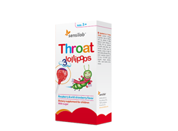 Throat lollipops