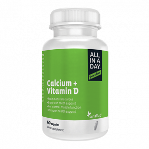 ALL IN A DAY Calcium + Vitamin D