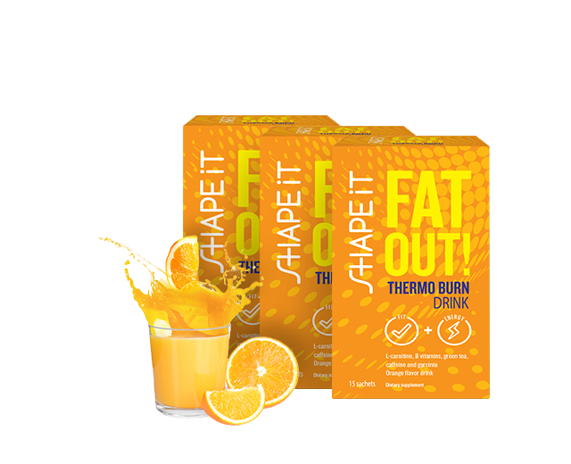 Fat Out! THERMO BURN DRINK 1+2 GRATIS