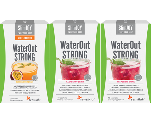 WaterOut STRONG Tropical + 2 FREE WaterOut STRONG
