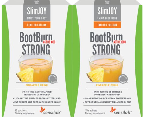 LIMITED EDITION! BootBurn STRONG ACTIVE 1000 Tropical 1+1 FREE