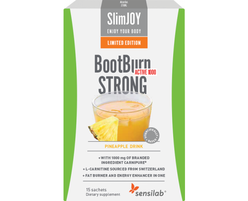 LIMITED EDITION! BootBurn STRONG ACTIVE 1000 Tropical