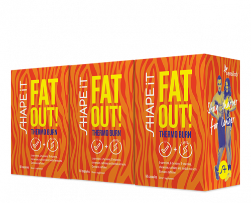 Fat Out! Thermo burn 1+2 FREE
