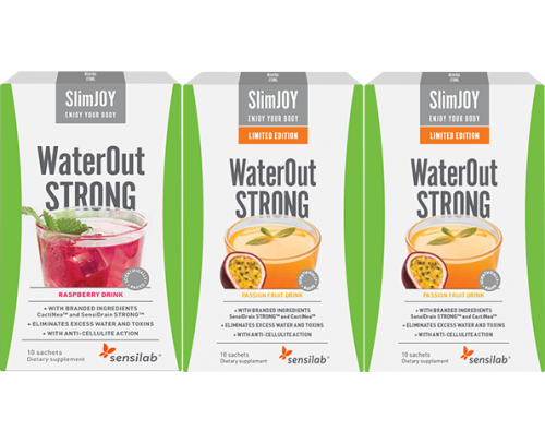 WaterOut STRONG + 2 FREE WaterOut STRONG Tropical