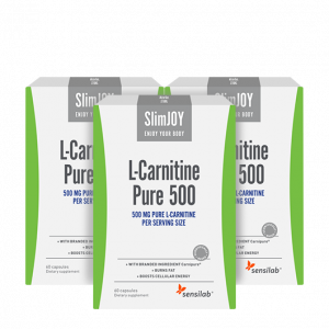 L-Carnitine Pure 500: Buy 1 Get 2 FREE