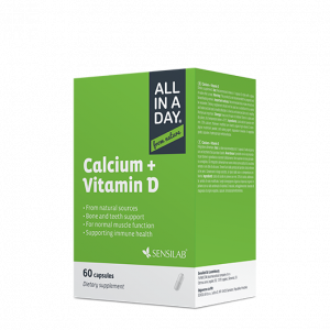 ALL IN A DAY Calcium + Vitamin D -20%