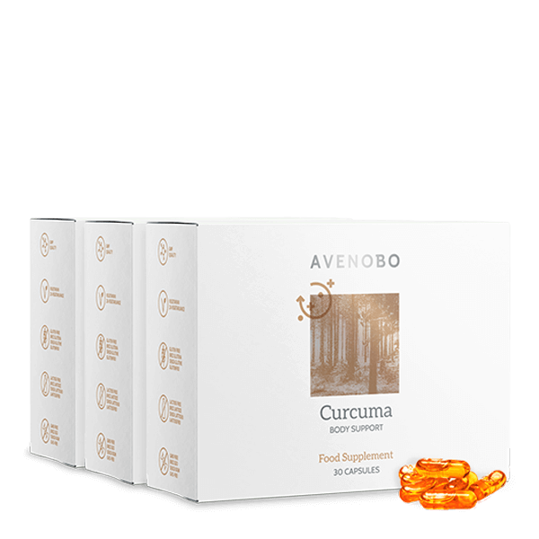 AVENOBO Curcuma 3-Month Bundle
