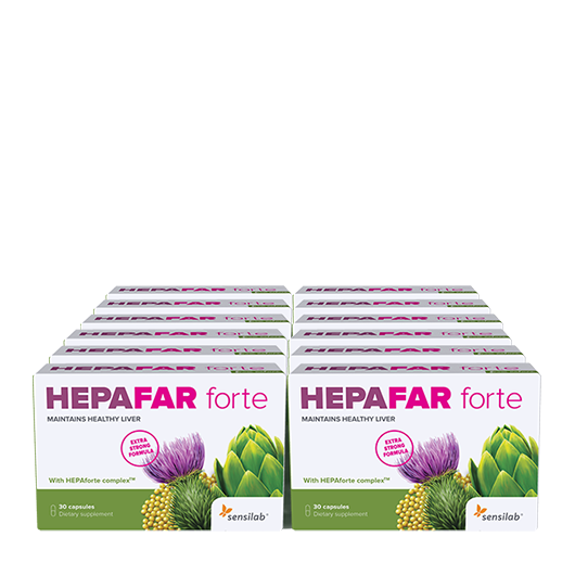 NEW! 3-month liver detoxification with Hepafar