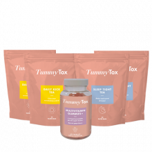 2x Daily Kick & Sleep Tight Tea -50% + REGALO: Caramelle Vitaminiche