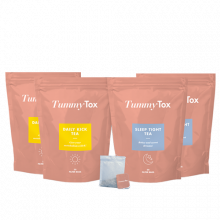 2x Daily Kick & Sleep Tight Tea -60%