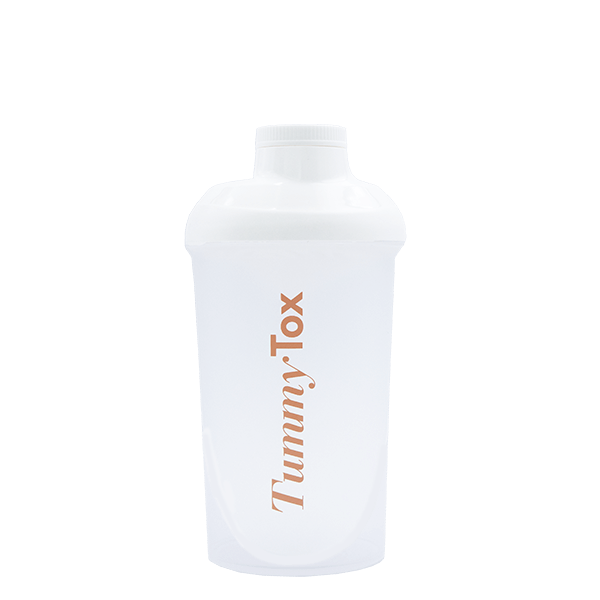 Tummy Tox SHAKER 500ml WHITE