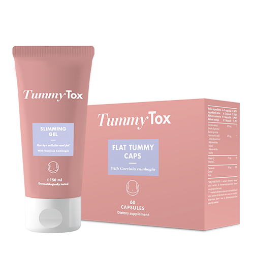 Flat Tummy Caps + Slimming gel GRATIS