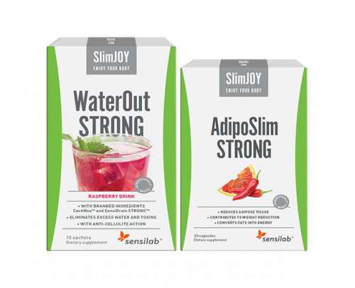 AdipoSlim STRONG + GRATIS WaterOut Strong