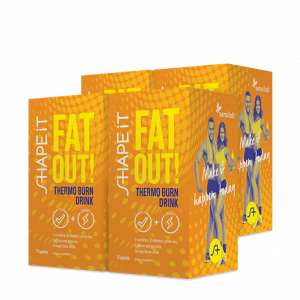 Fat Out! Thermo Burn Drink 1+3 GRATIS
