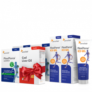 3- mesečni Flexiforce paket + DARILO: Cod Liver Oil