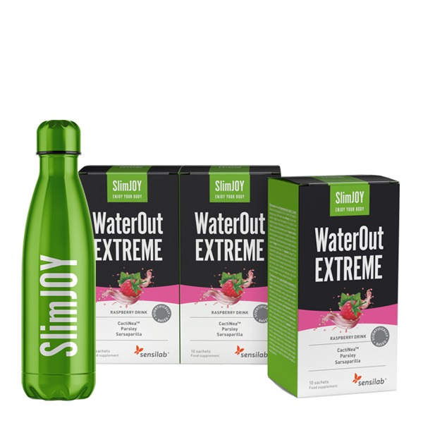 3x WaterOut EXTREME + Thermo-Flasche GRATIS