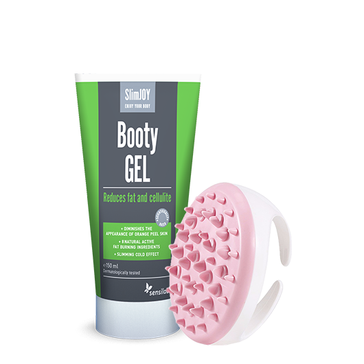 Booty Gel + Massagebürste