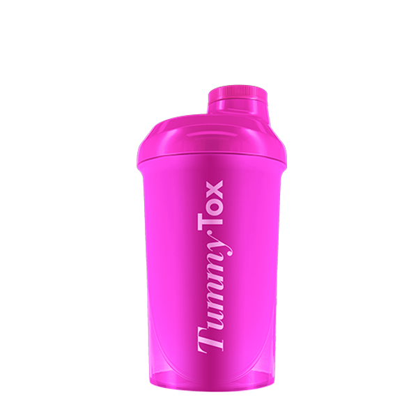 Tummy Tox Shaker 500ml PINK