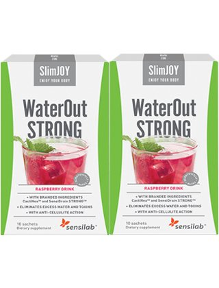 WaterOut STRONG: 1+1 GRATIS