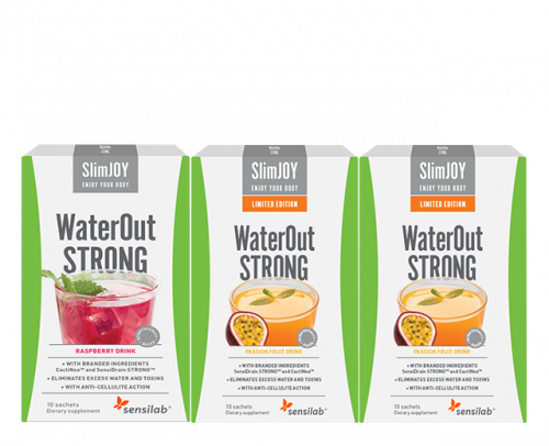 WaterOut Strong + 2x WaterOut Tropic GRATIS