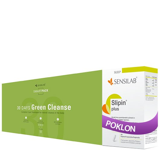 30-Days Green Cleanse + POKLON
