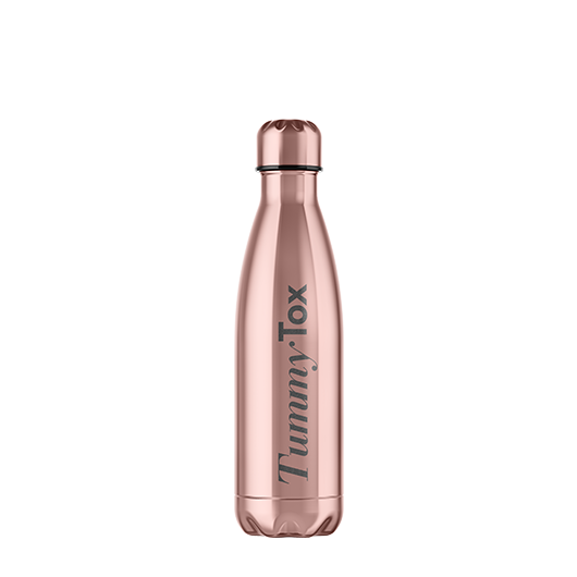 Bouteille TummyTox Or Rose