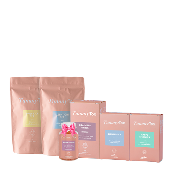 Slim Detox + Oursons Beauté Shine Bright GRATUITS