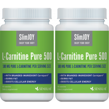 2x L-carnitina Pura 500: pague 1, LEVE 2